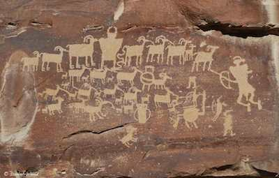 Great Hunt Petroglyph